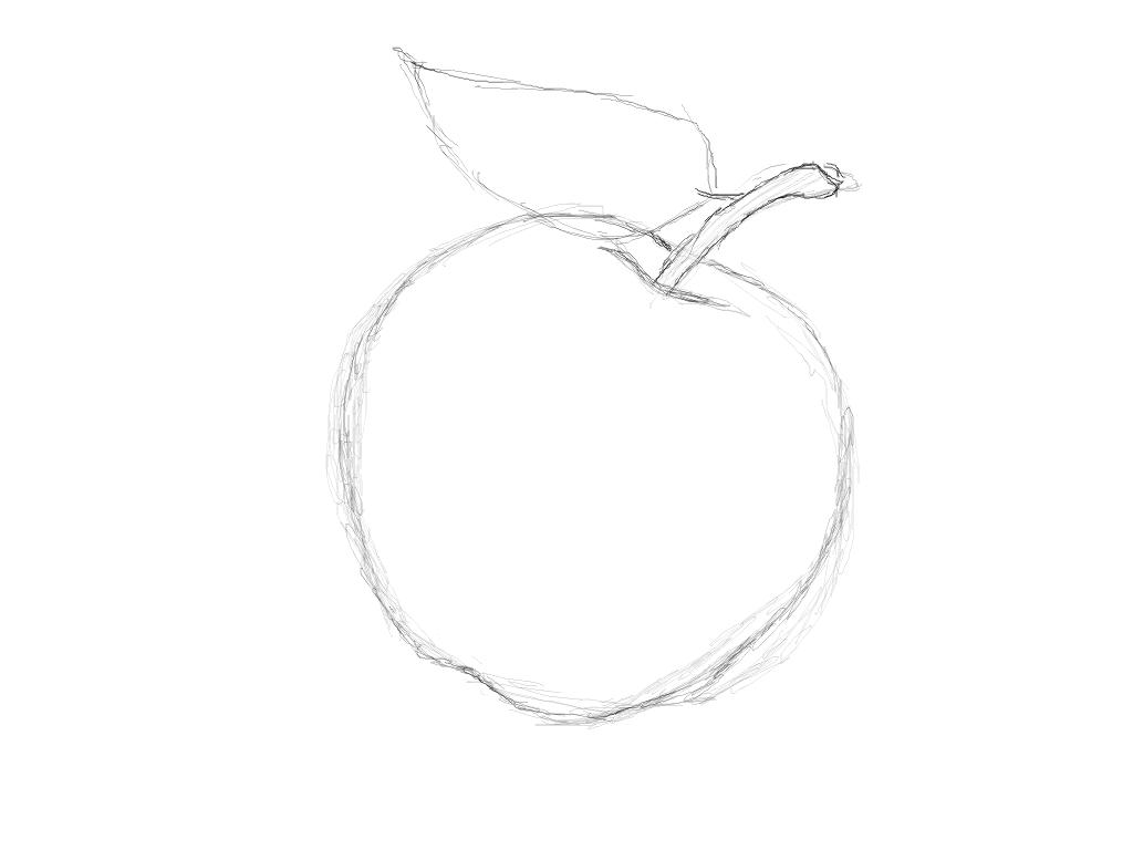 4.2 Ein Apfel - GIMP-Werkstatt