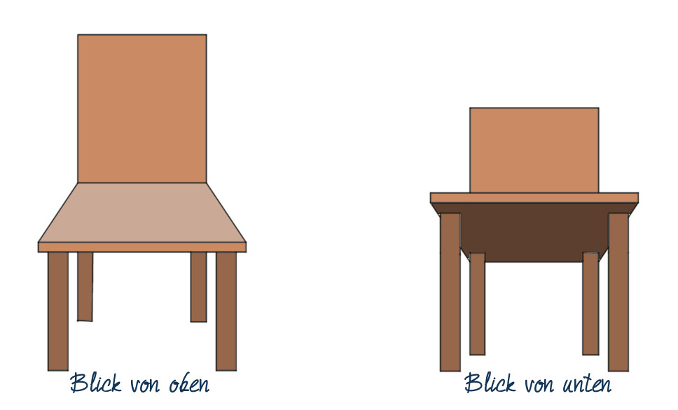 43 Ein Stuhl Gimp Werkstatt